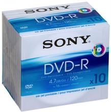 SONY 10DMR47B-IP DVD-R Pack of 10
